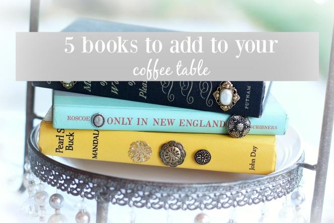 bookstoaddtoyourcoffeetable